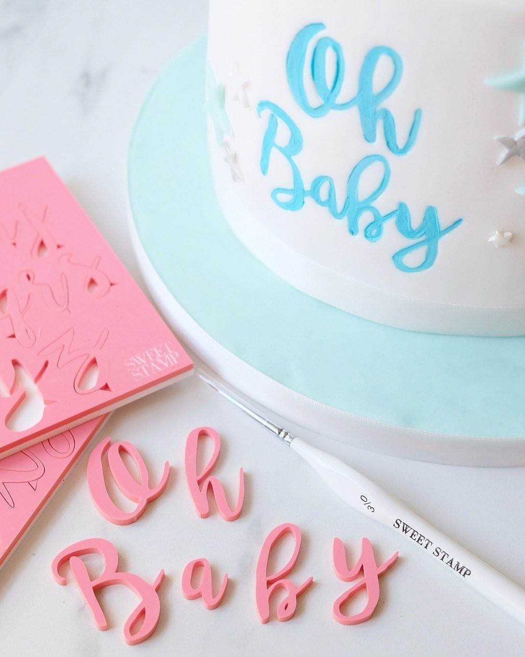 Sweet Stamp - Stylish Upper & Lowercase