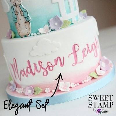 Sweet Stamp - Elegant Upper & Lowercase