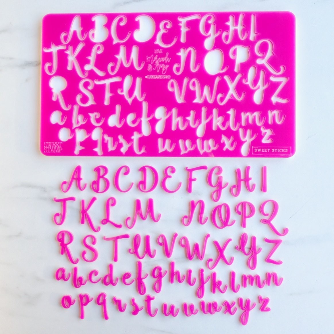 Sweet Stamp - SweetSticks Edition Upper & Lowercase