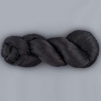 Raven Black - 100% Bombyx Silk (20/2)
