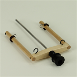 Flyer HS with sliding hook for Bobbin Lead (Irish Tension) wheels - Lacquered
