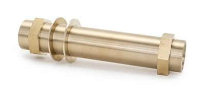 "1.25"" Brass threaded Waveguide"