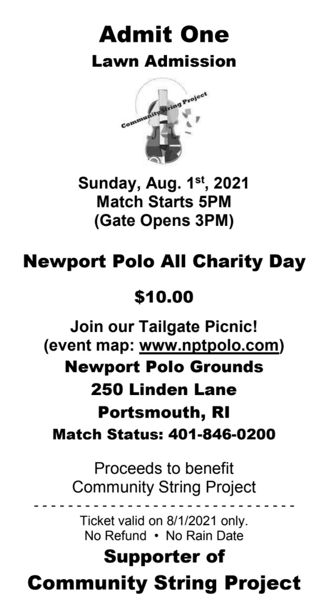Charity Day at Newport Polo