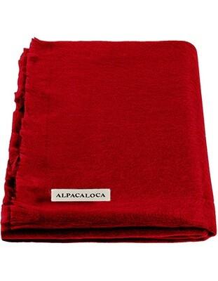 ALPACA LOCA huivi | Punainen