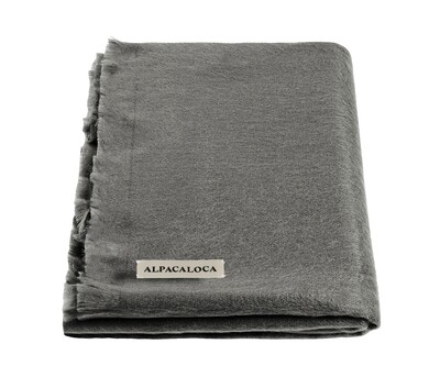 ALPACA LOCA huivi | Dark grey