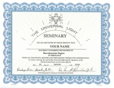 Accredited Bachelor Degree in Theology