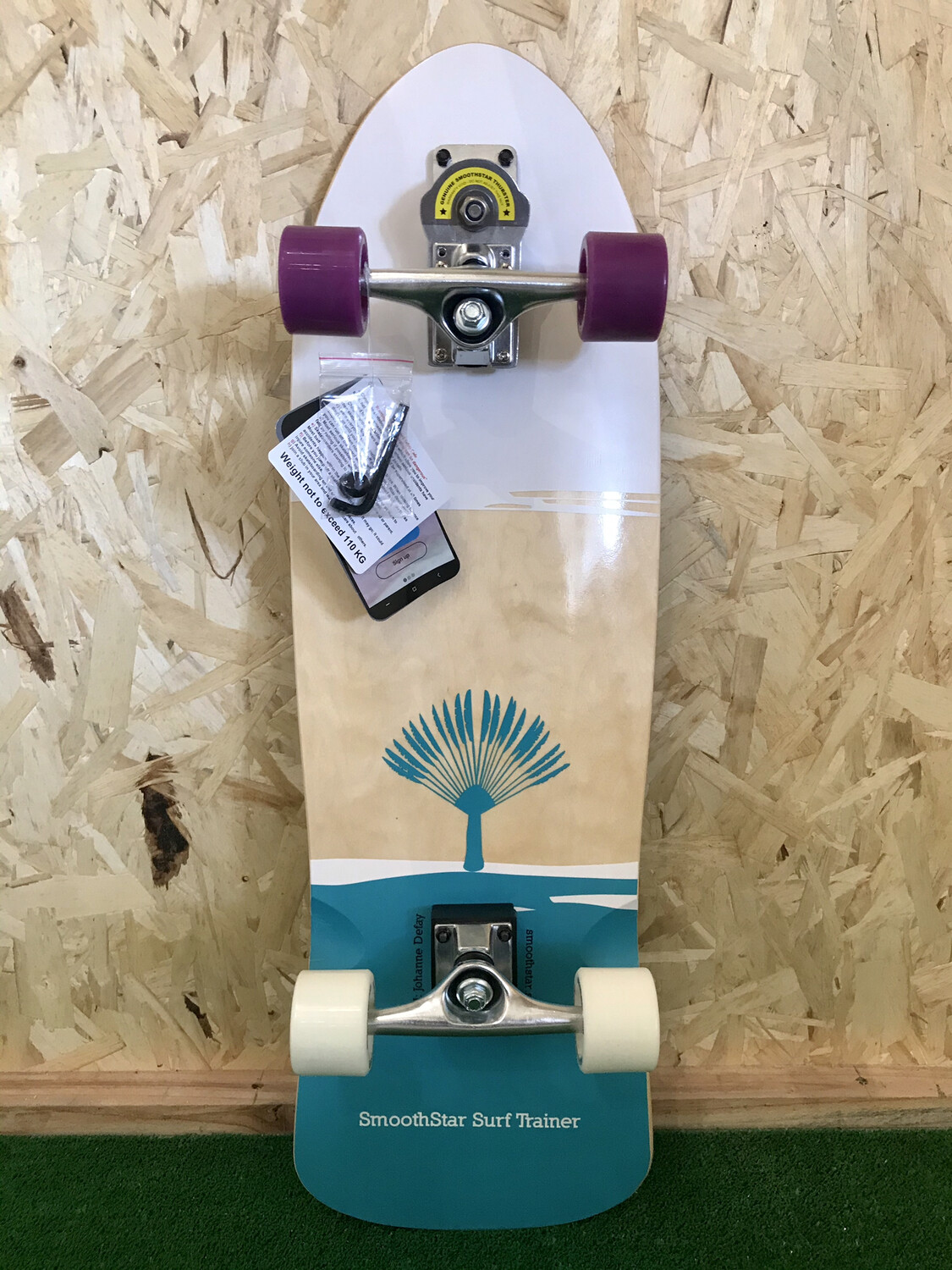 "32.5"" SmoothStar Johanne Defay Pro Model (Teal/White)"
