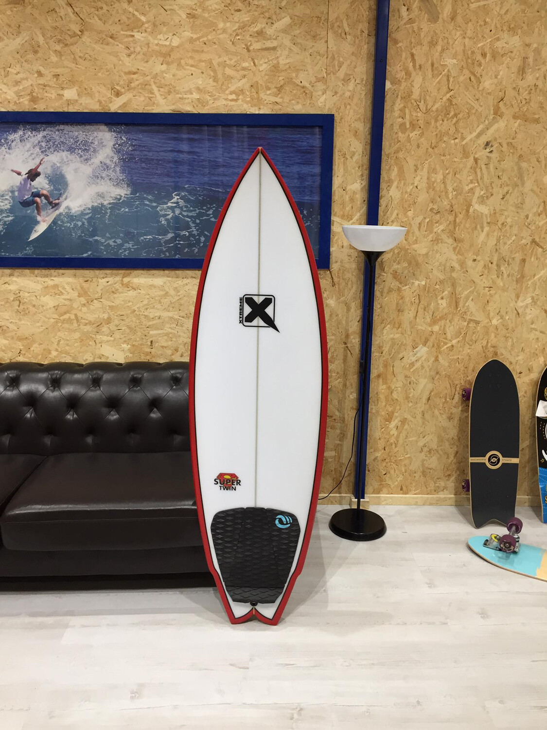 Surfboard Xtreme Super Twin 5'6 (PU CORE)