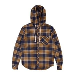 GREENLAKE HOODED FLANNEL SHIRT