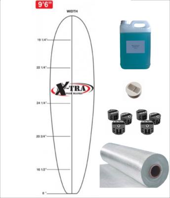 Kit DIY PU Longboard até 10'5