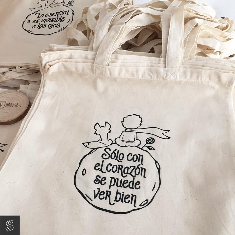 Bolsas de tela 100% algodón