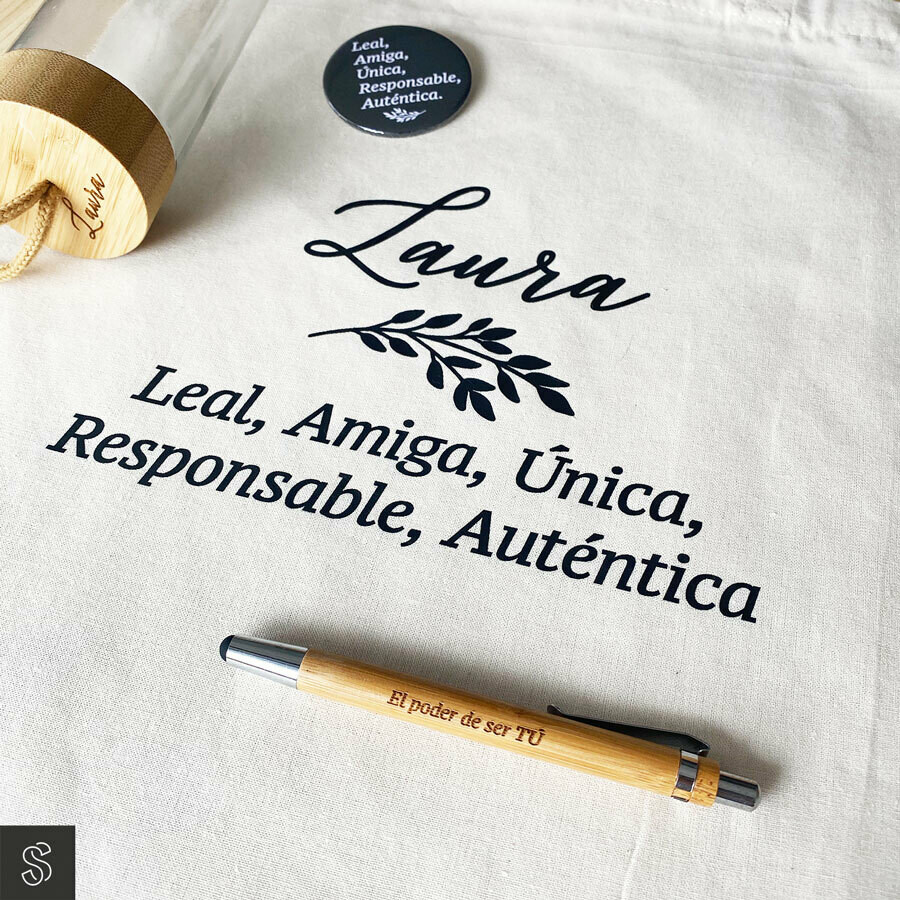 Pack regalo - AÑADE TU FRASE