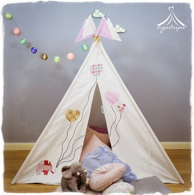 Ellie and the Balloons Teepee Bundle