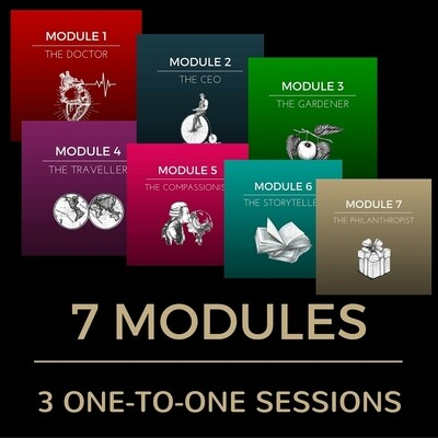 7 MODULES (49 CLASSES) WITH 3 ONE-TO-ONE SESSIONS