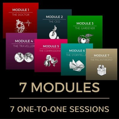 7 MODULES (49 CLASSES) WITH 7 ONE-TO-ONE SESSIONS