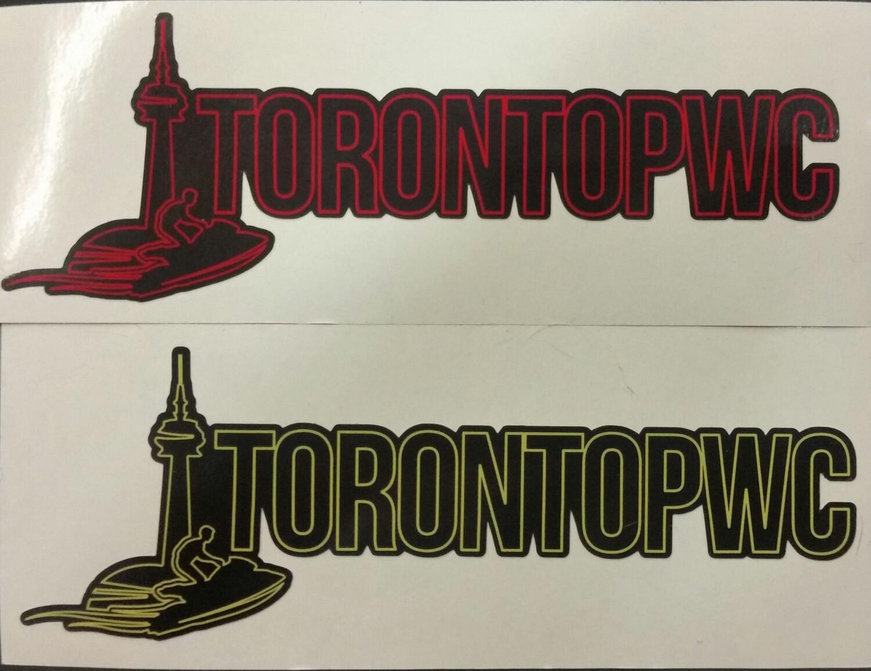 TorontoPWC Decals (2pcs)