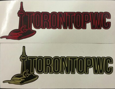 TorontoPWC Decals (2pcs)
