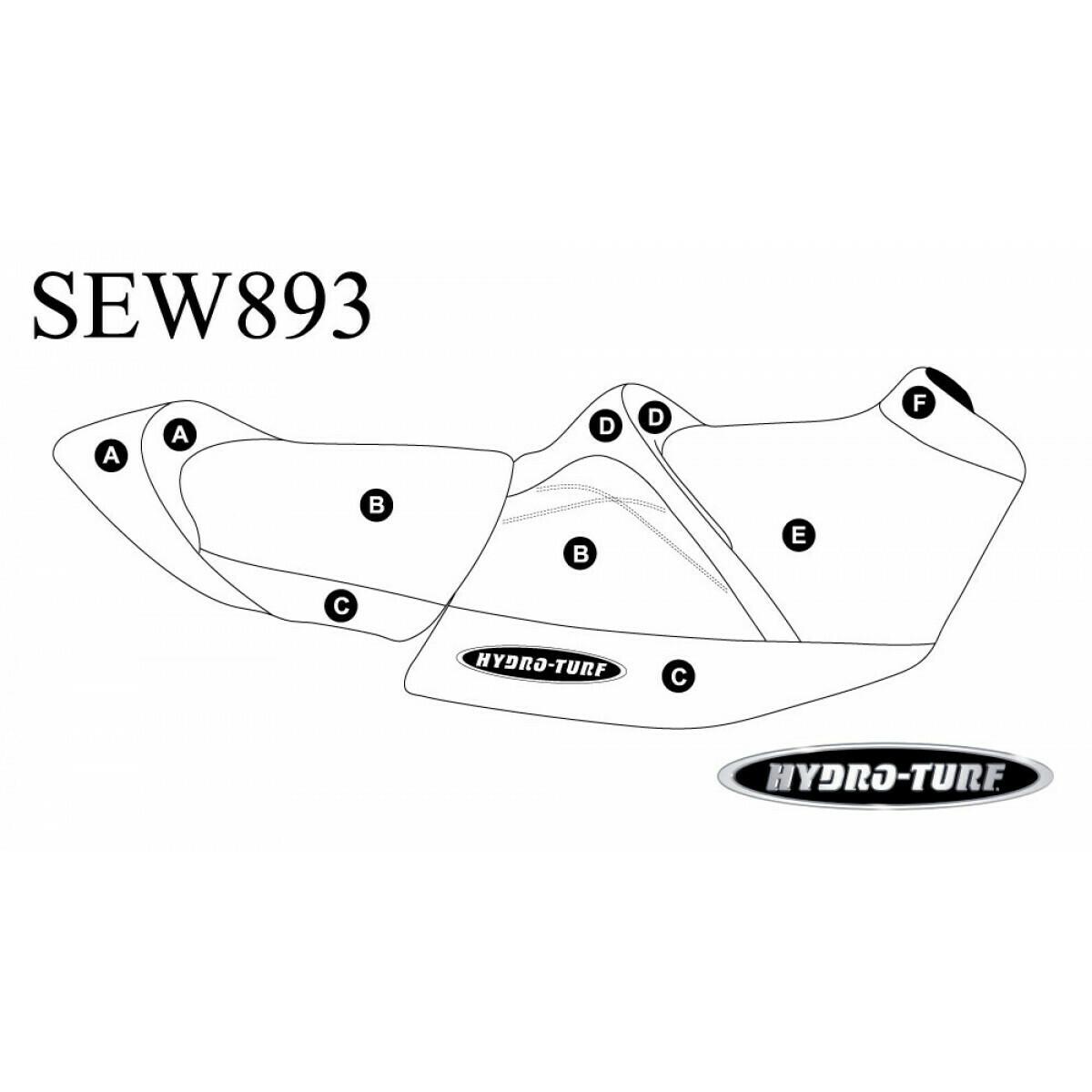 HYDROTURF STANDARD - SEADOO - RXT 230, RXT-X 300 & Wake Pro 230 (18-20)