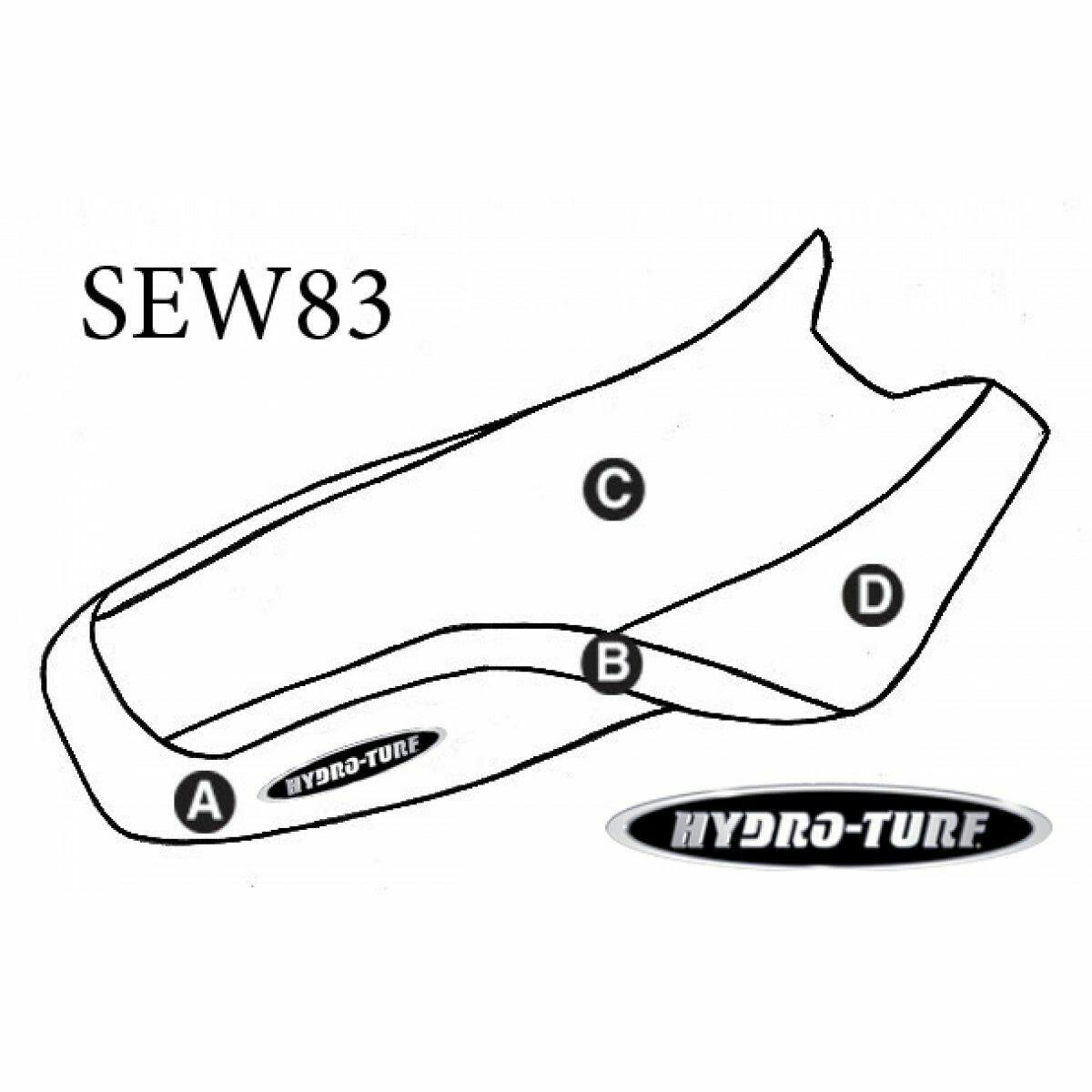 HYDROTURF STANDARD - SEADOO - XP (93-96) / SP Family (94-99)