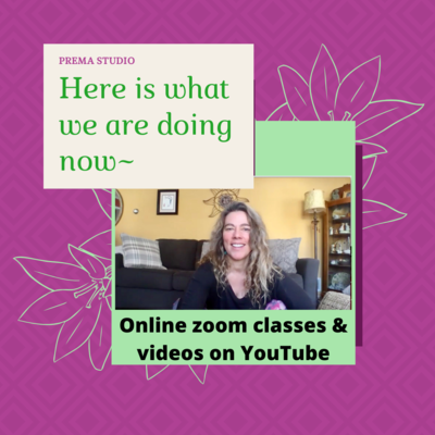Virtual Wednesdays - Yoga Morning ~ with Kris