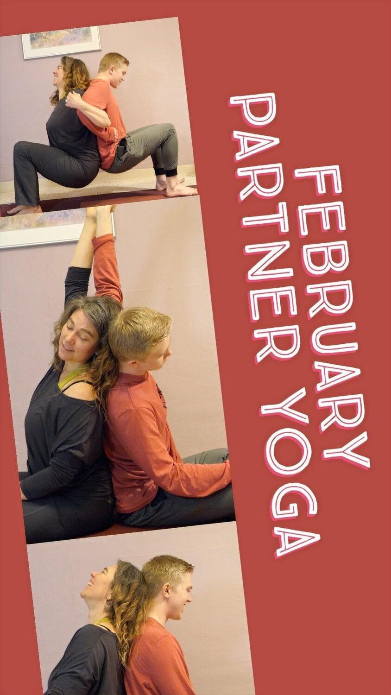 Partner Yoga and Massage Ebook