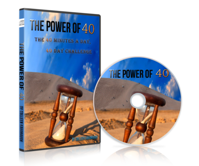 The Power of 40, The 40 Minutes a Day, 40 Day Challenge