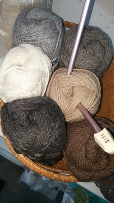 Yarn - DK wt.  70% Alpaca, 30% Merino