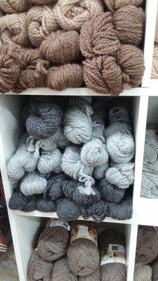 Yarn - Bulky wt.  70% Alpaca, 30% Merino