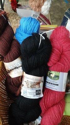 Yarn - DK wt.  70% Alpaca, 30% Merino, hand dyed
