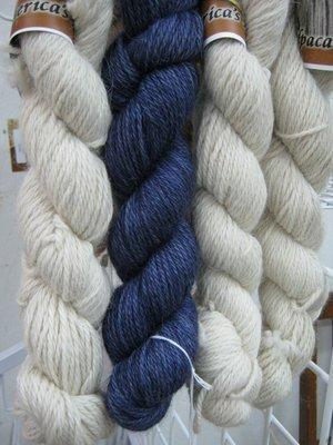 Yarn - 100% alpaca, Worsted wt