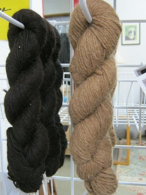 Yarn - 100% alpaca, DK wt