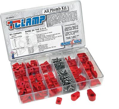 All Plumb T-Clamp Kit
