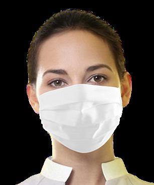 Máscara Unissex de tecido - 20 (vinte) Unidades