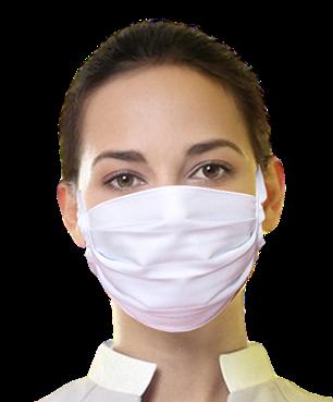 Máscara Unissex de tecido de amarrar - 5 (cinco) Unidades