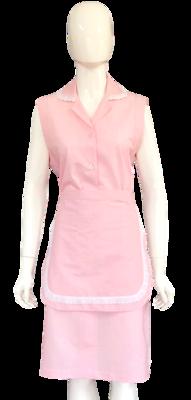 Conjunto de Vestido Regata e Avental