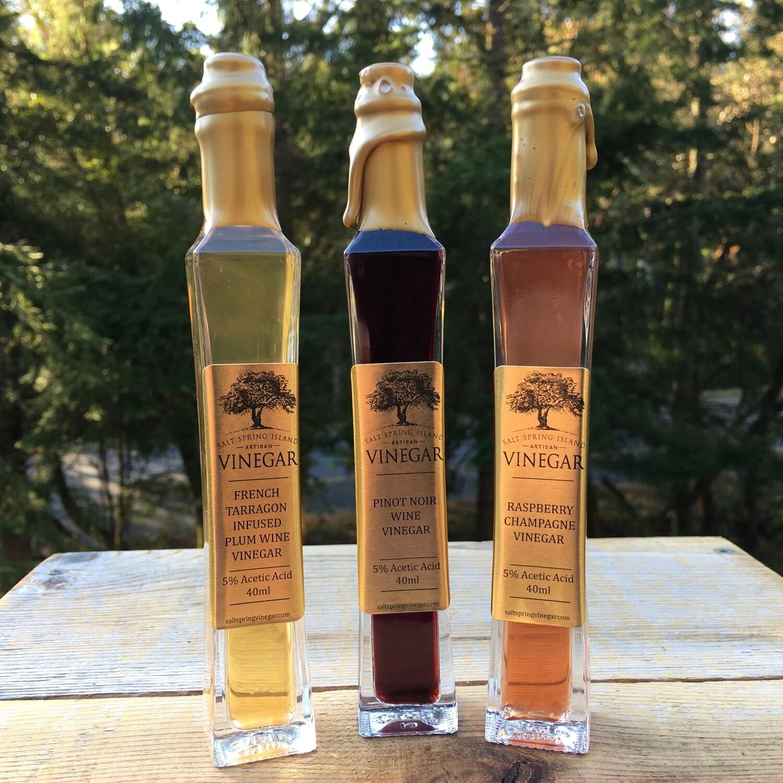 Fruit Wine Vinegars ~ 40ml
