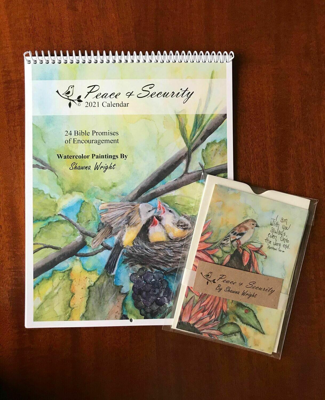 Calendar Gift Set (2021 Peace & Security)