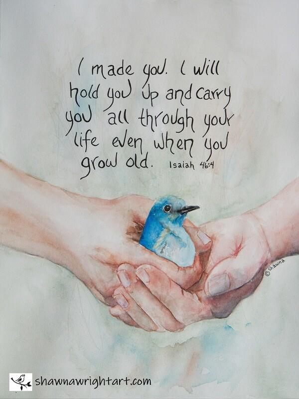 In His Hands (Original)