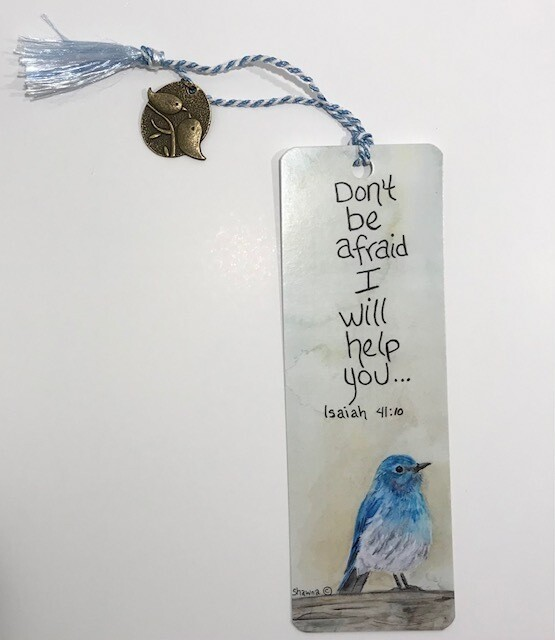 Bluebird Bookmark