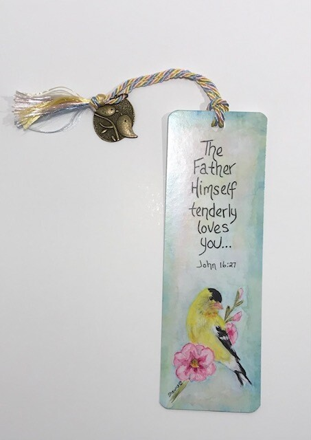 Goldfinch Bookmark