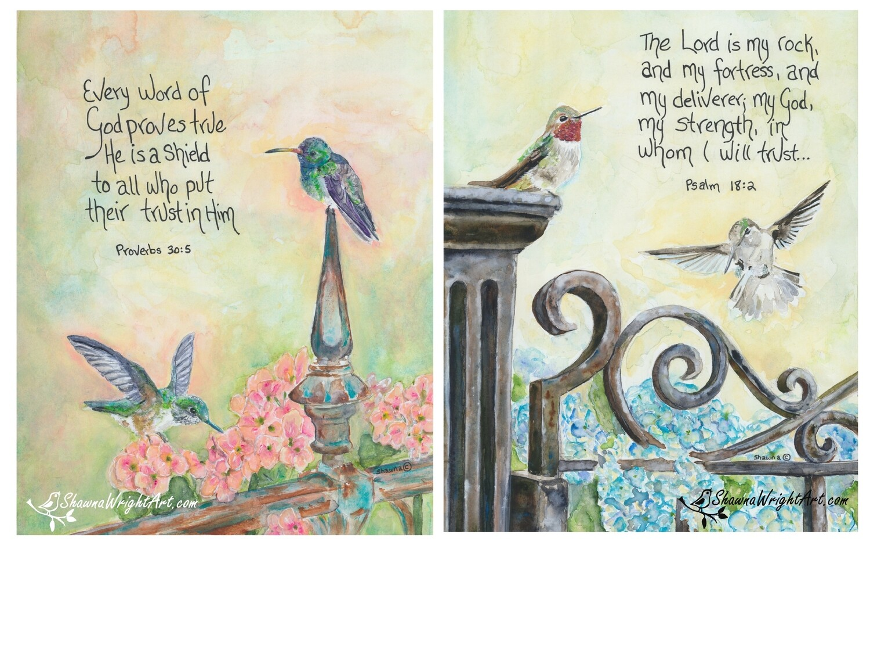 Hummingbird Companion  Set