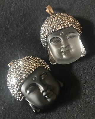 Genuine Crystal Buddha Pendants