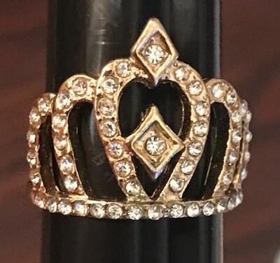 Mixed Metal Crown Ring