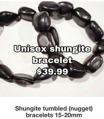 Unisex Shungite Bracelet
