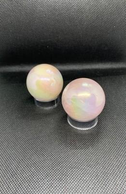 Aura Angel Quartz Spheres