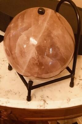 Huge Rose Quartz Sphere