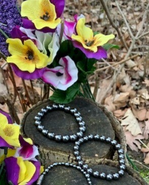 Hematite Bracelet Set - BOGO.