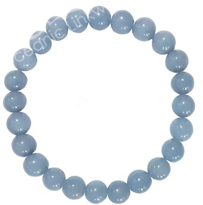 Angelite Bracelets, 8mm with free shipping