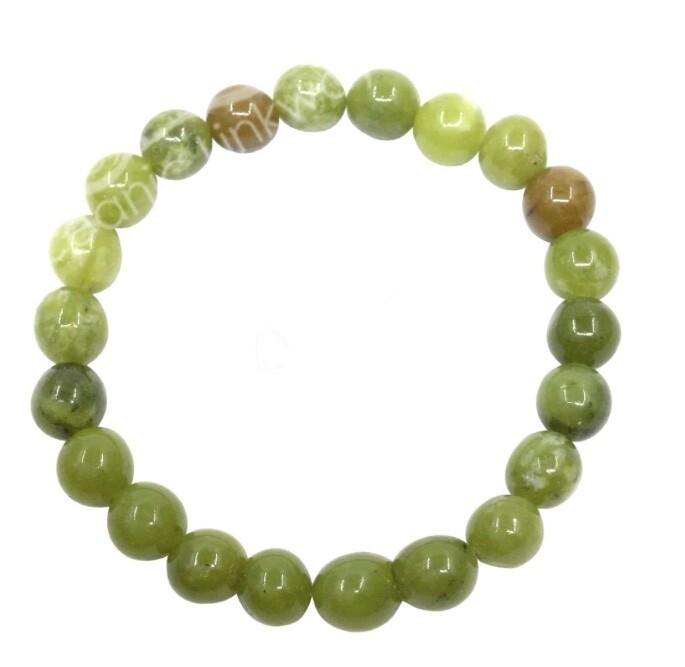 Green Chinese Jade Bracelets.