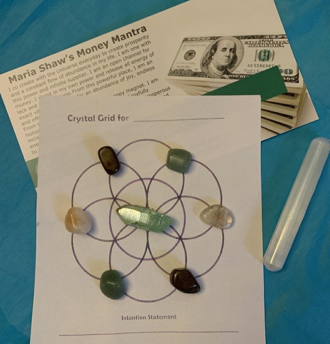 Money Manifesting Grids